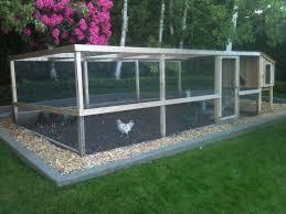 chicken runs saltbox designs