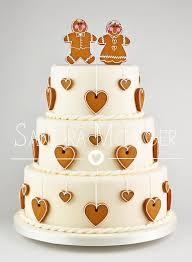 gingerbread wedding cake cake by sandra monger cakes u0026 cake