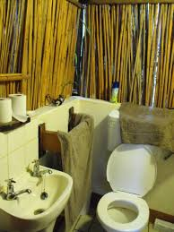 perfect small bathroom design with bamboo wall ideas plus