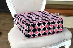 booster seat for bench table booster seat tutorial made from foam laminated fabric sewing
