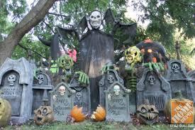 outdoor halloween decorating ideas kitchentoday images of halloween yard decorations best 25 halloween tombstones