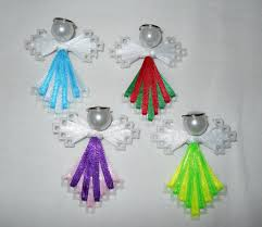 plastic ribbon angel pin ribbon and plastic canvas