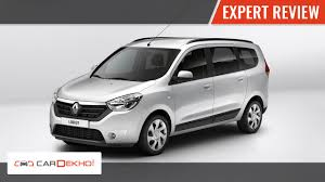 renault lodgy seating renault lodgy expert review cardekho com youtube