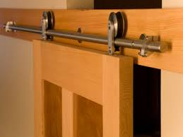 Install Sliding Barn Door by Install Barn Door Track System Image Of Sliding Door Track Roller