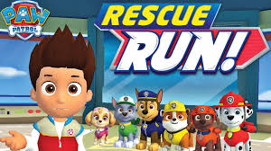 paw patrol rescue run nickelodeon game app for kids youtube