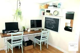 Home Office With Two Desks Two Person Desk Home Office Multi Person Home Office Desk