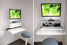 17 wall mounted desks to make the most of your small space brit co