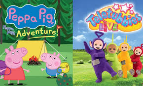 Peppa Pig 2017 Book Peppa Pig And Teletubbies On Sale Now Eastbourne Theatres