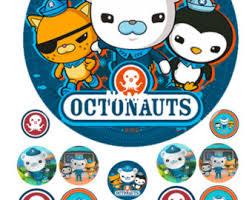 octonauts cake topper octonauts etsy