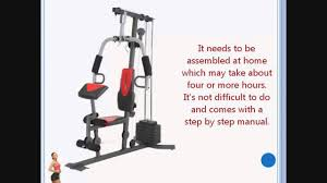 weider 2980 x weight system review youtube