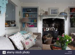 fireplace side shelves binhminh decoration