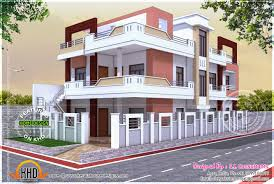 Triplex House Plans Free Architecture Design For Home In India Aloin Info Aloin Info