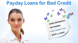get payday loans with bad credit and fast