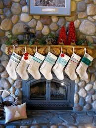 personalized christmas stocking green and red collection