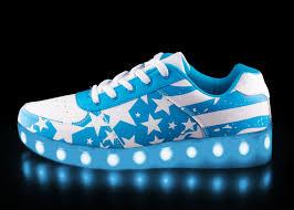 big kids light up shoes big kids led light up shoes cotton candy blue low top sale