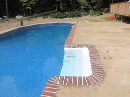 decorative stamped concrete pool decks ny evolution stamped concrete