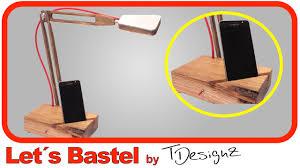 Kleiner Holz Schreibtisch 1 3 Schreibtisch Lampe Aus Holz Selber Bauen Youtube
