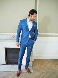 costume bleu mariage costume bleu roi mariage prêt à porter féminin et masculin