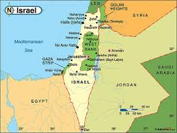negev desert map maps page