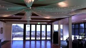 ceiling draping for weddings wedding ceiling drapes