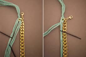 diy bracelet with charm images Diy woven charm bracelet jpg