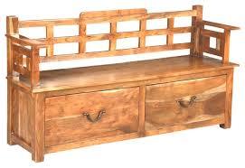 Storage Bench Seat Amazing Attractive Indoor Storage Bench Seat 2 Person White With