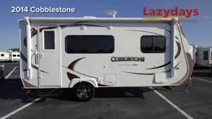 2 bedroom 5th wheel floor plans 2014 travel lite cobblestone camper for sale at lazydays the rv