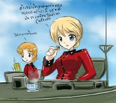 Girls Und Panzer Meme - tea time by bat11 on deviantart
