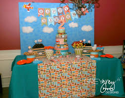 2nd birthday decorations at home greygrey designs my parties brett s planes trains and