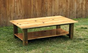 furniture distressed outdoor coffee table sand and stain coffee