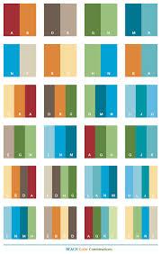color combos color combo popular color combinations peachy design ideas 38 on