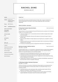business analyst resume template 12x business analyst resume sles resumeviking