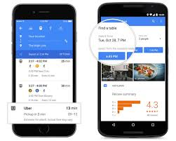 maps for ios rolling out new look with opentable and uber