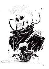 rockabilly ghost rider by denism79 on deviantart