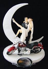 harley davidson wedding cake toppers motorcycle wedding cake toppers the wedding specialists cake