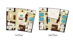 saratoga springs treehouse villas floor plan bay lake tower at disney s contemporary resort dvc rental store