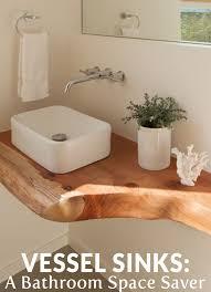 bathroom vessel sink ideas vessel sinks a bathroom space saver space saver vessel sink and