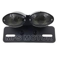 custom truck tail lights for motorcycle tail brake license plate light universal cat eye