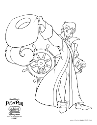 disney peter pan coloring pages peter pan coloring pages