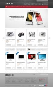 fortis responsive magento theme ecommerce template and design web