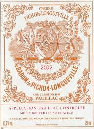 learn about chateau pichon baron 2002 chateau pichon longueville au baron de pichon longueville