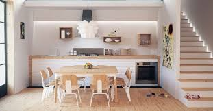 revetement mural cuisine bien choisir le revêtement mural de sa cuisine cuisinoa fr