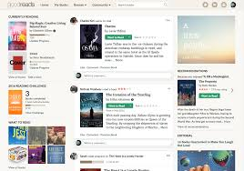 goodreads post a look for the goodreads homepage