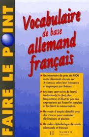 vocabulaire cuisine allemand vocabulaire de base allemand français edition théo henzi