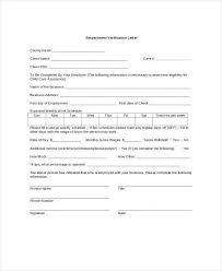 Rent Verification Letter Employment Verification Letters Sample Income Verification Letter