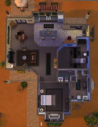 The Burrow Floor Plan Mod The Sims Pebble Burrow 2br 2ba No Cc