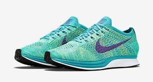 Nike Sport nike flyknit racer sport turquoise sneaker bar detroit