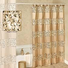 Glitter Curtains Ready Made Glitter Shower Curtain Trend