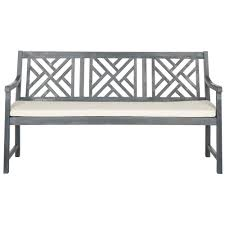 polywood vineyard 60 in white patio bench gnb60wh the home depot