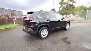 jeep cherokee black 2016 2016 jeep cherokee limited black gw118339 redmond seattle
